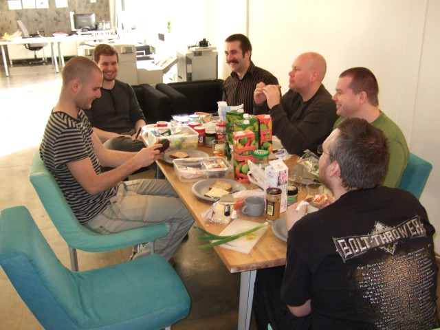 Lunch at Copyleft